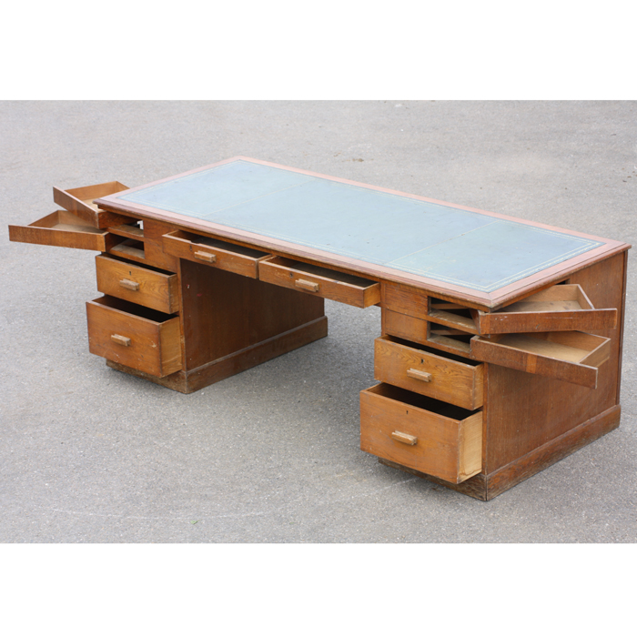 Vickers Pedestal Desk