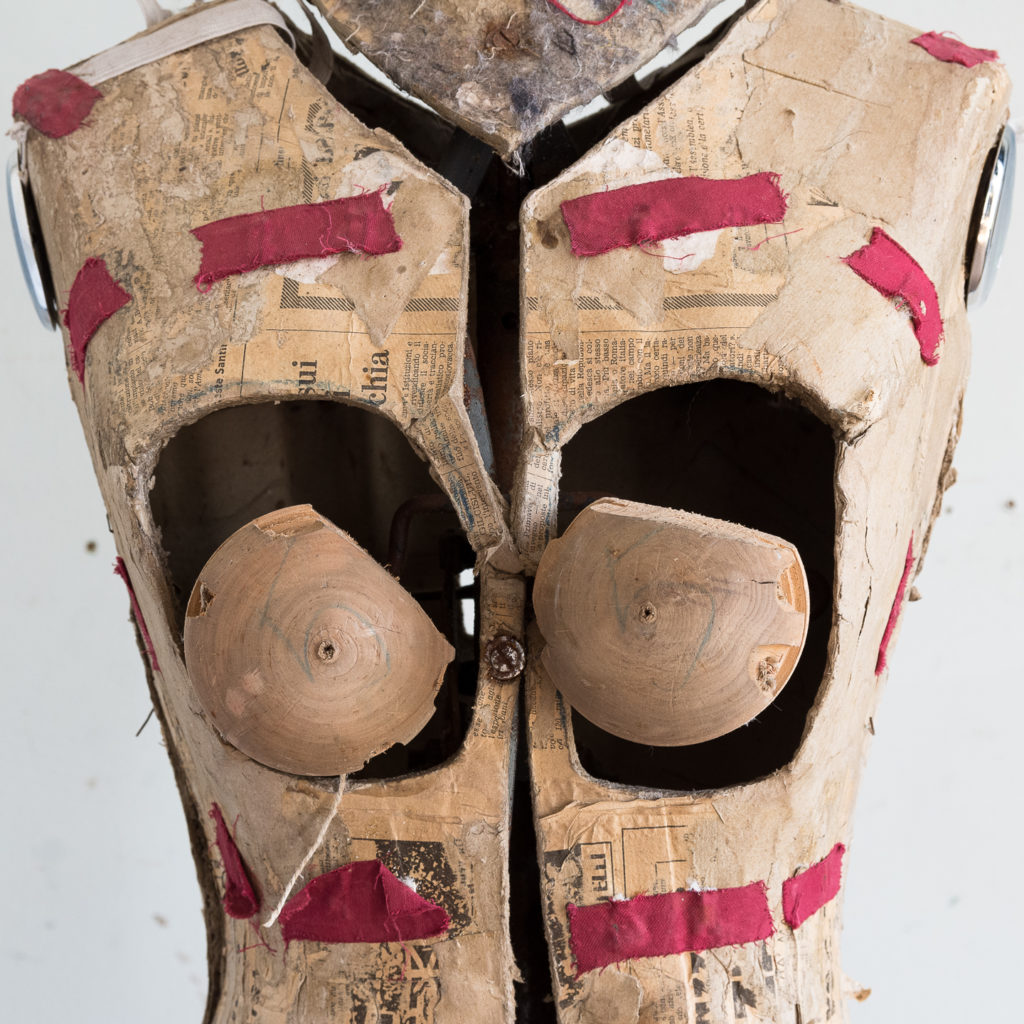Mid-twentieth century adjustable dressmaker's dummy,