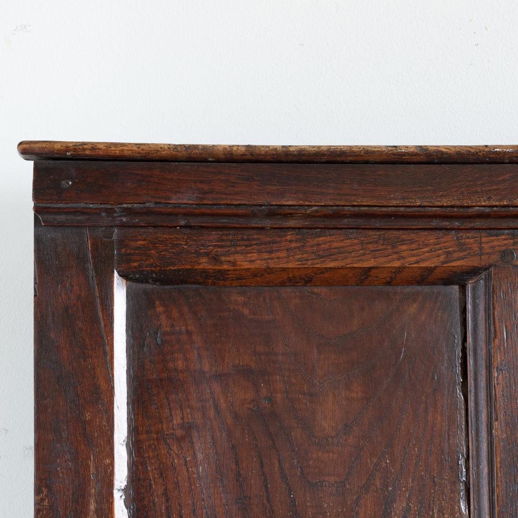 George II oak settle,-138514