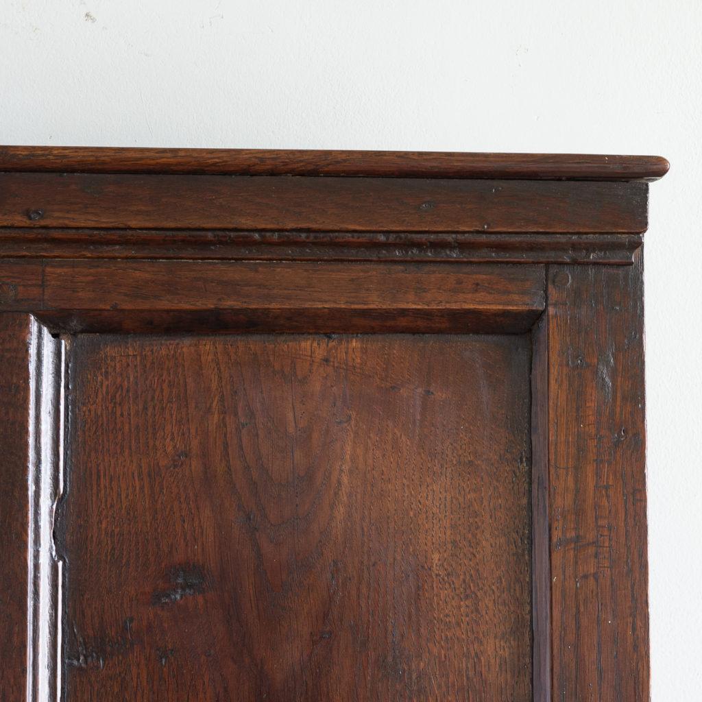 George II oak settle,-138515