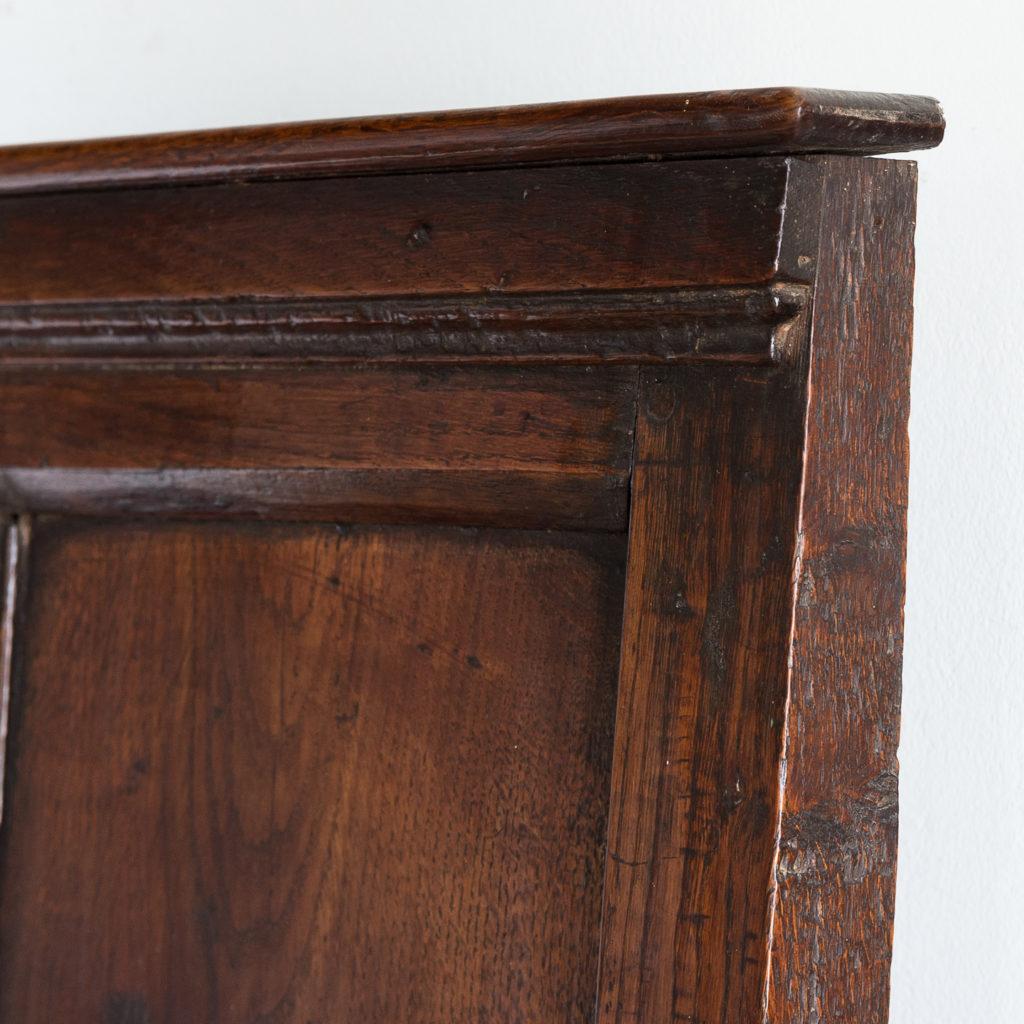 George II oak settle,-138513
