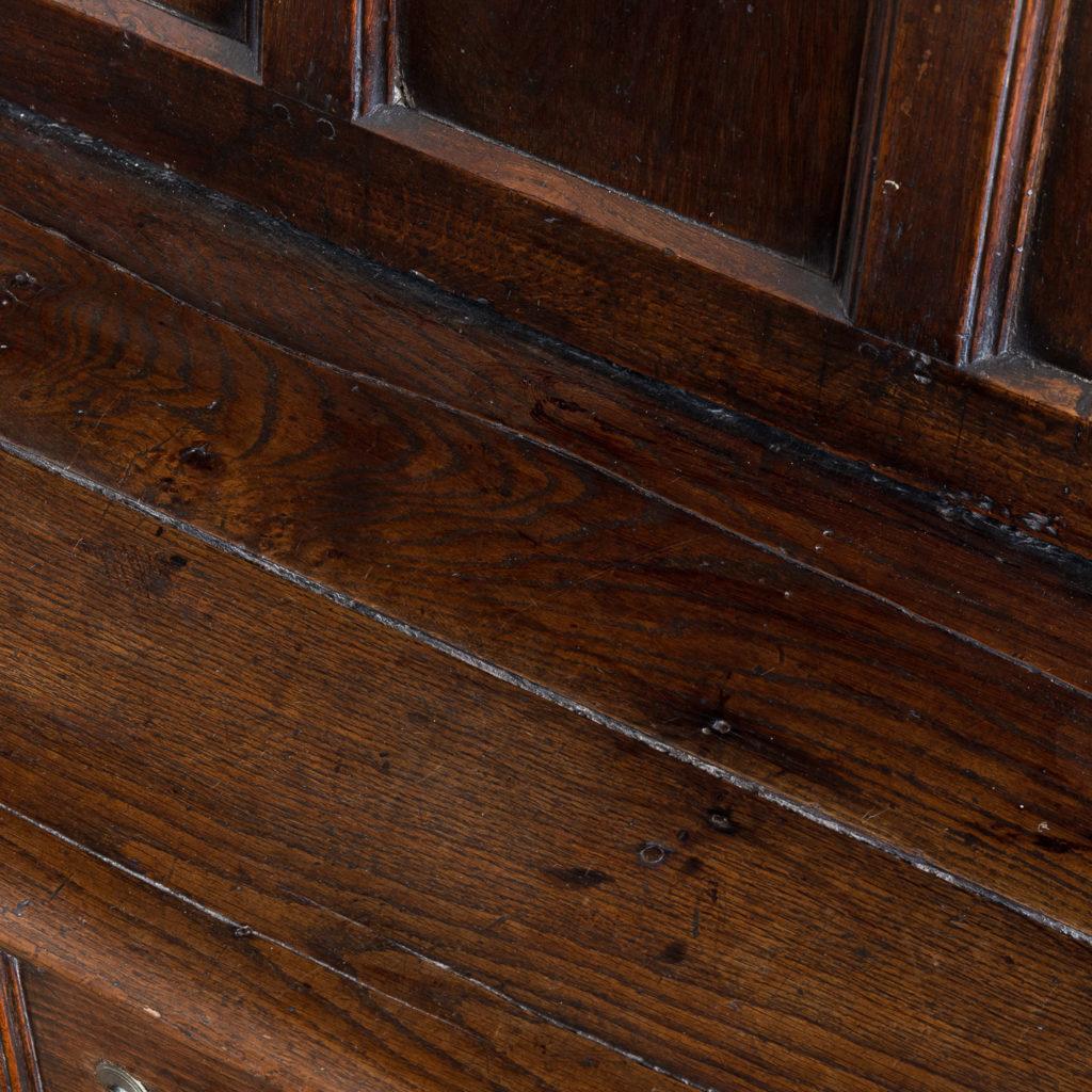 George II oak settle,-138516