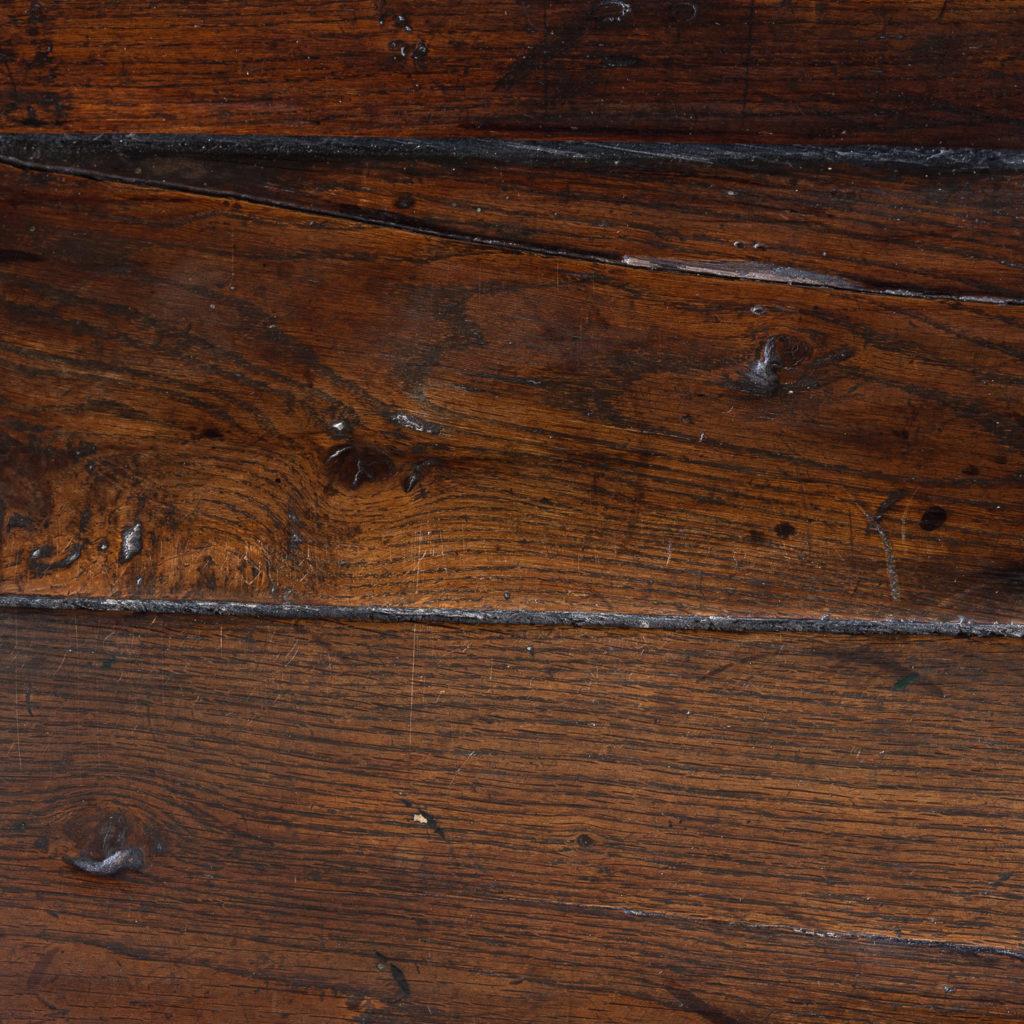 George II oak settle,-138517