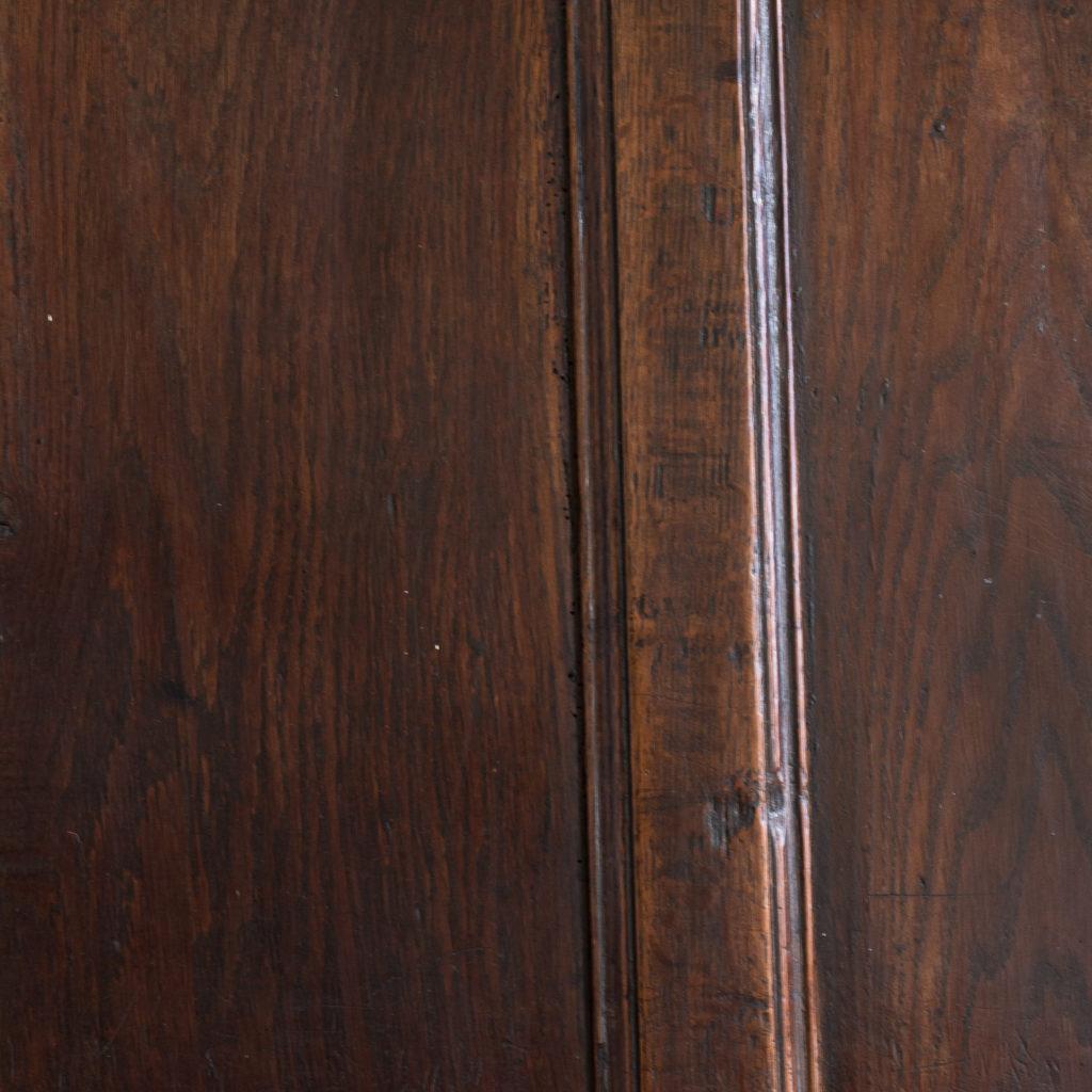 George II oak settle,-138505