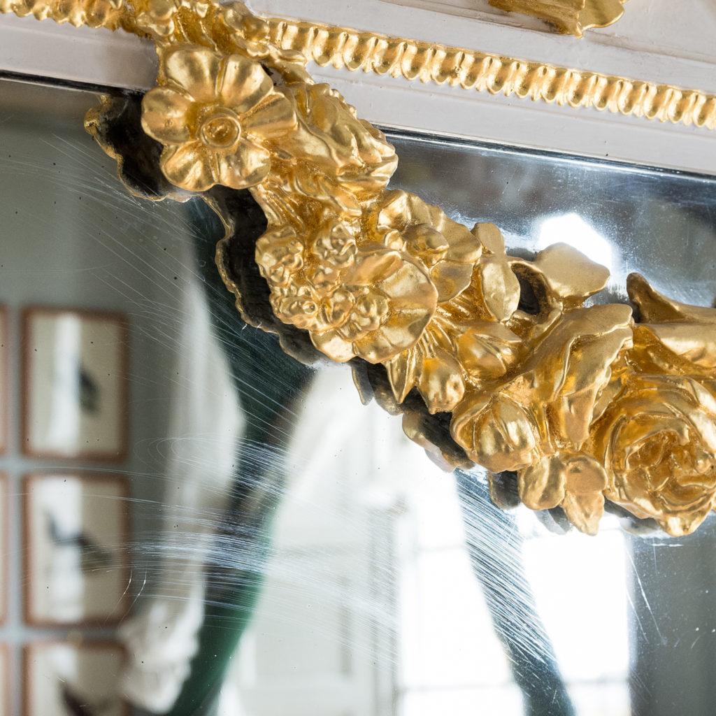 Louis XVI style parcel-gilt boiserie mirror,-138714