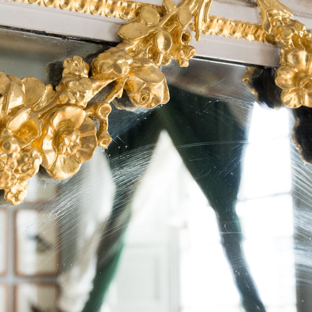 Louis XVI style parcel-gilt boiserie mirror,-138716