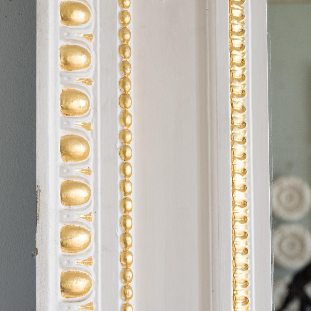 Louis XVI style parcel-gilt boiserie mirror,-138718