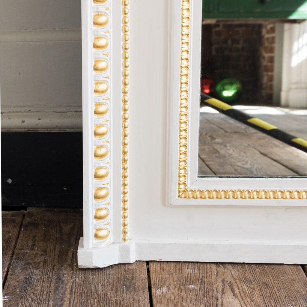 Louis XVI style parcel-gilt boiserie mirror,-138720