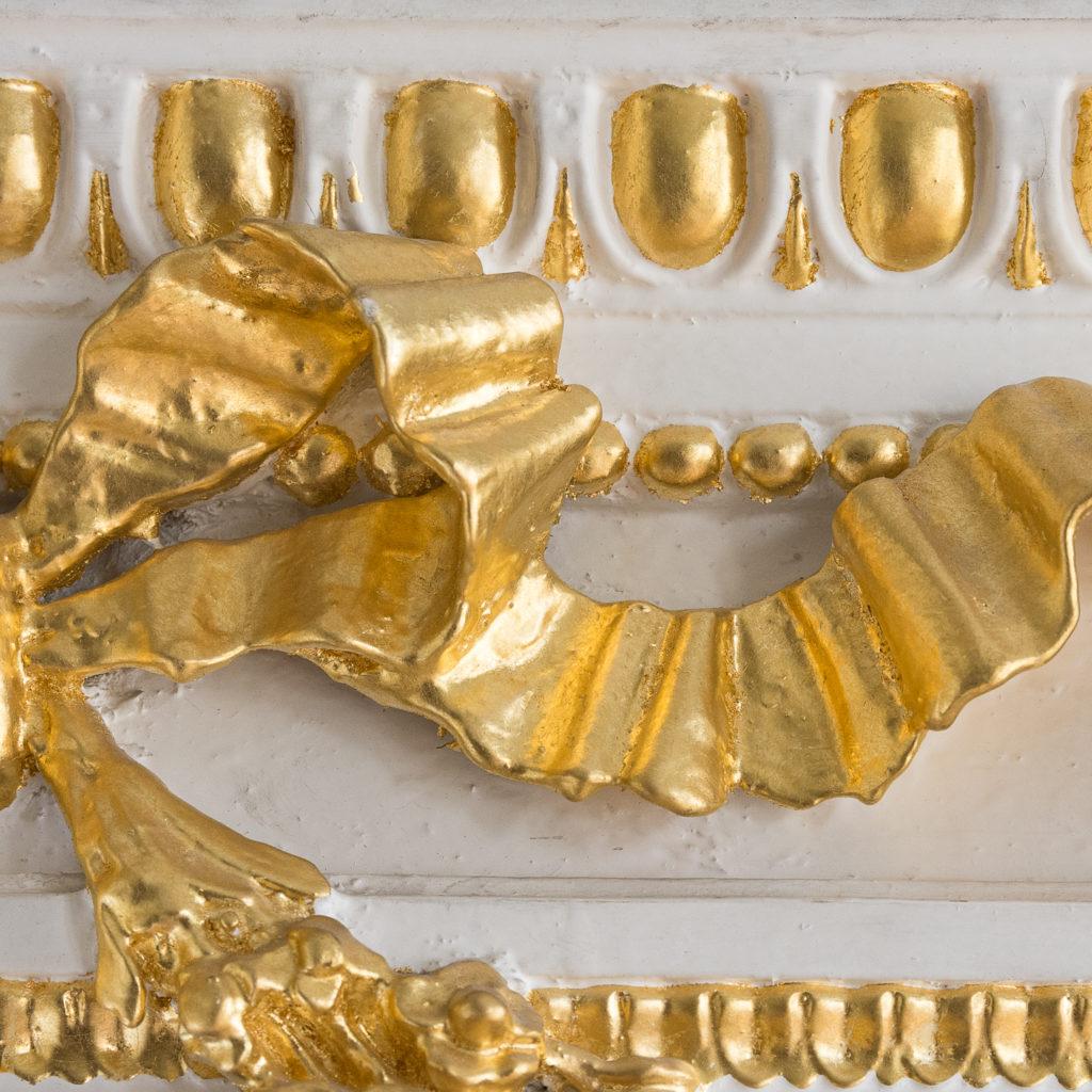 Louis XVI style parcel-gilt boiserie mirror,-138715