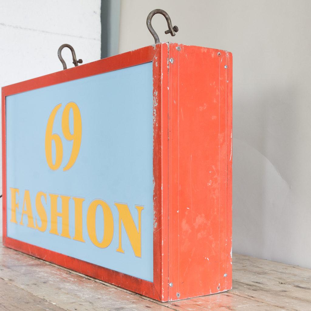 'Fashion 69' illuminated sign,-138426
