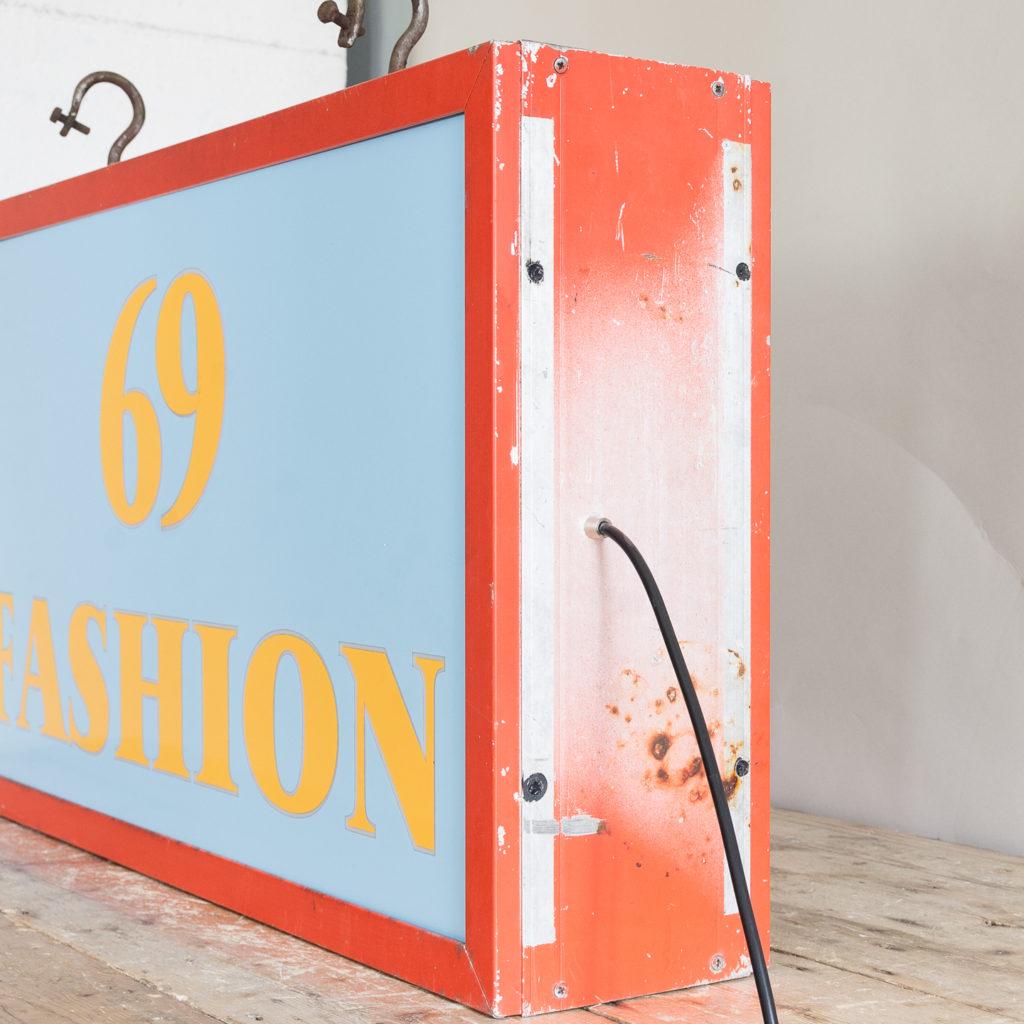 'Fashion 69' illuminated sign,-138427