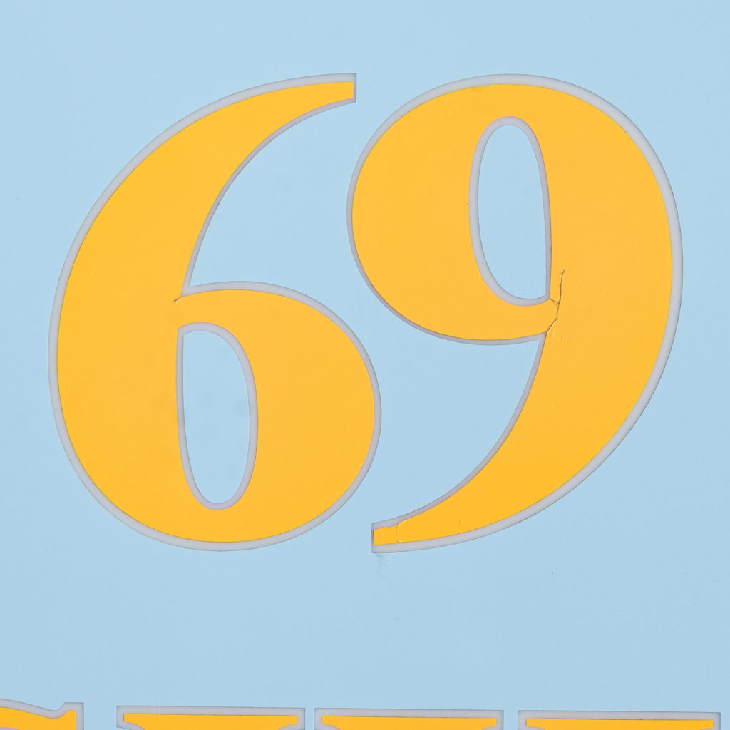 'Fashion 69' illuminated sign,-138428