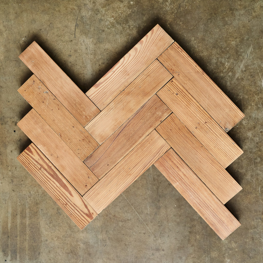 Pitch Pine Parquet Block-0