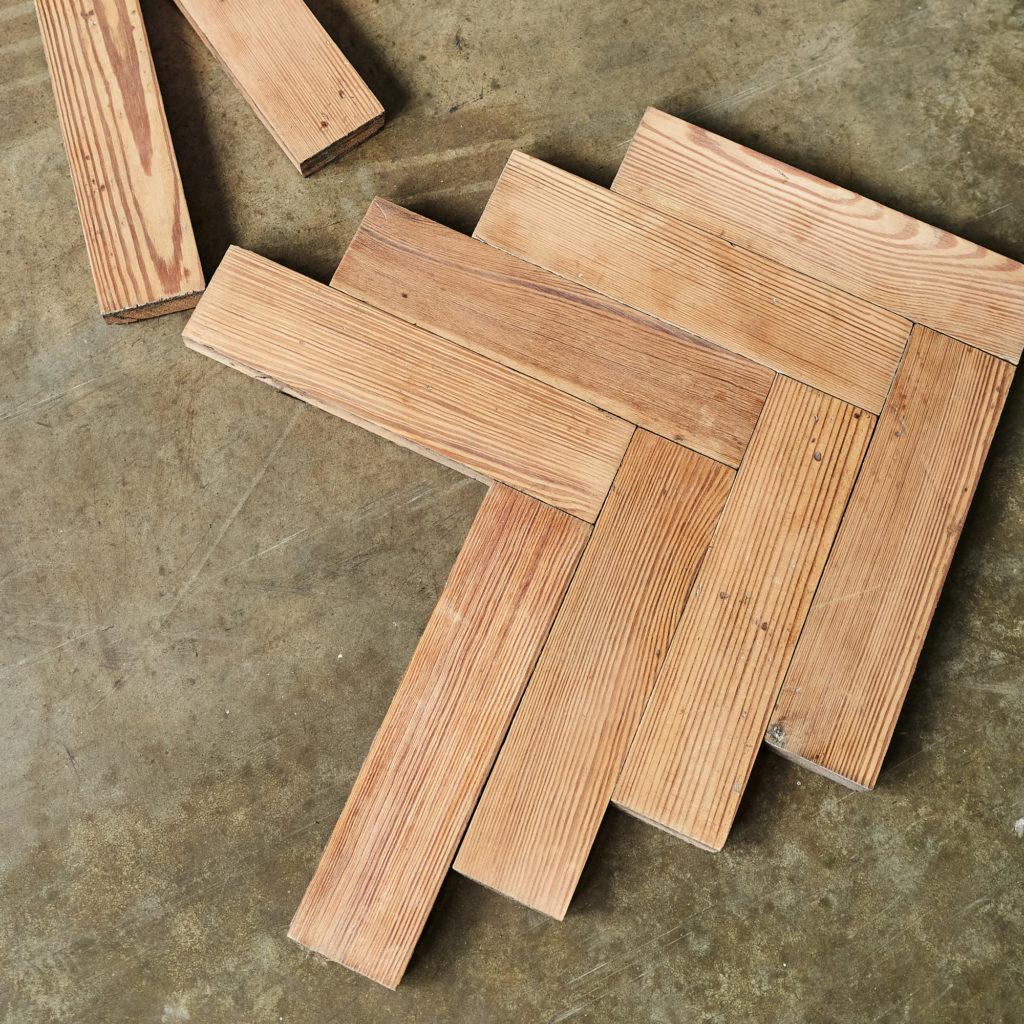 Pitch Pine Parquet Block-138384