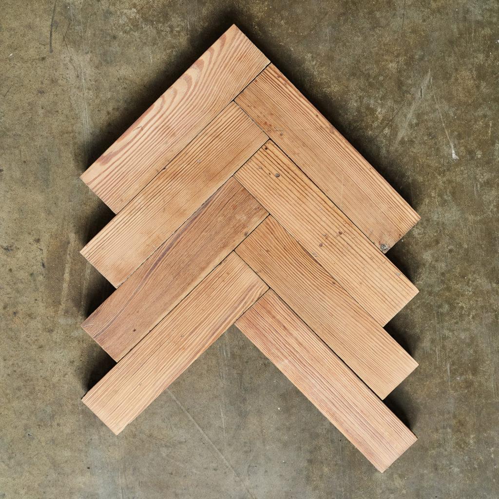 Pitch Pine Parquet Block-138385