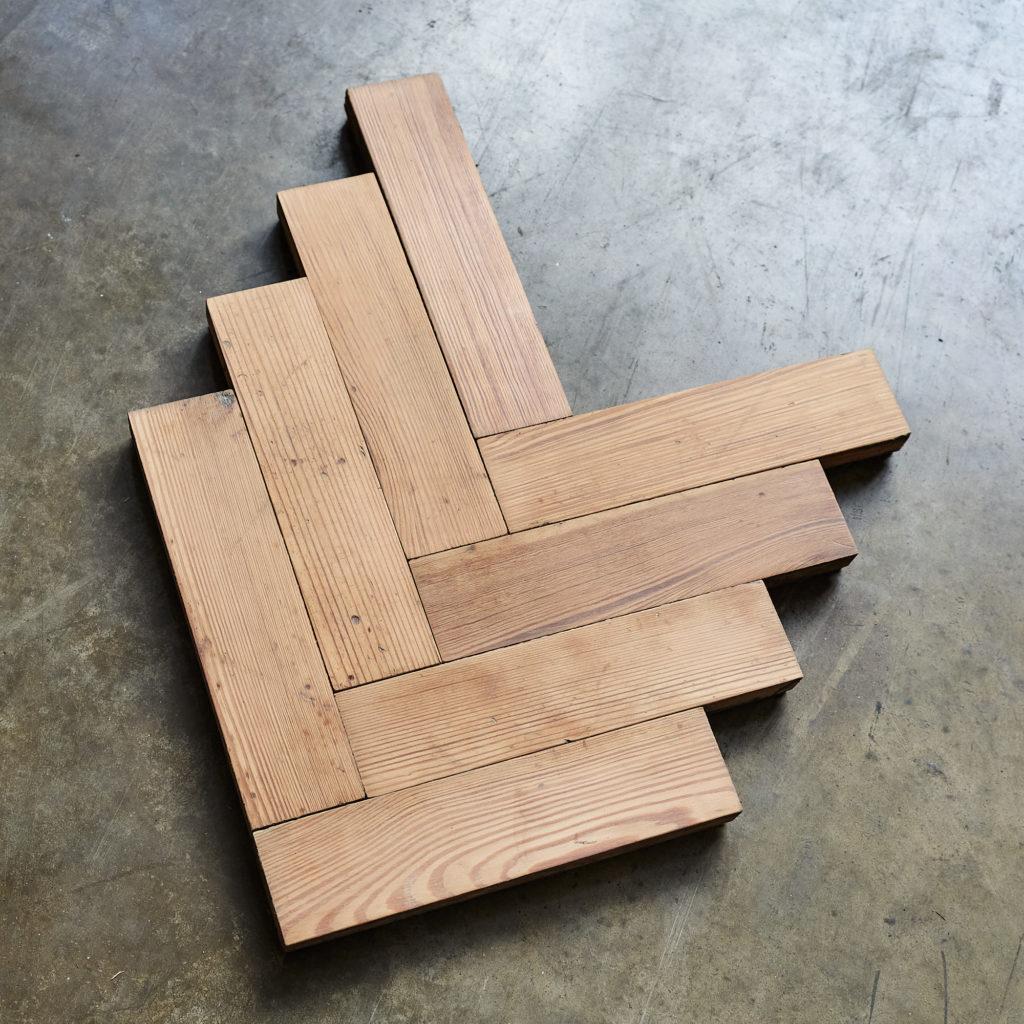 Pitch Pine Parquet Block-138386