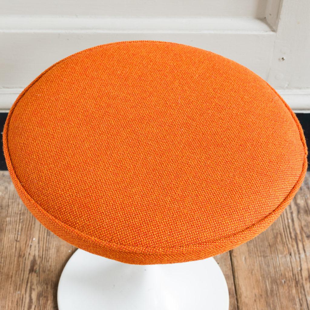 upholstered in orange Kvadrat wool