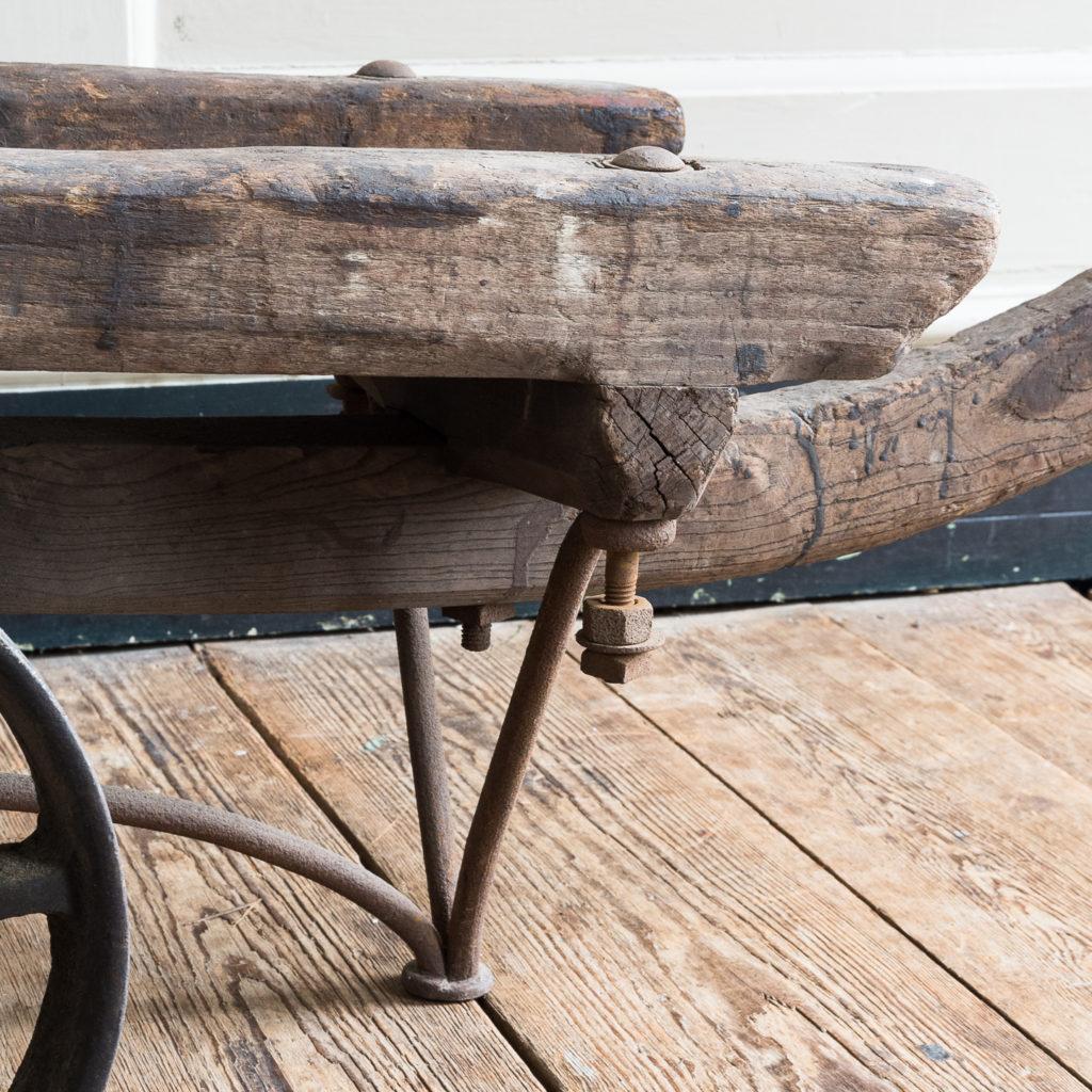 Nineteenth century elm Docklands goods barrow,-139383