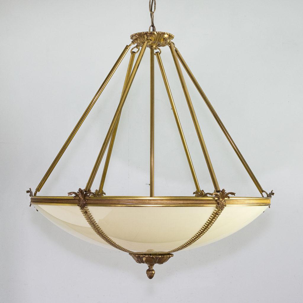 French Empire style Plafonnier pendant light,