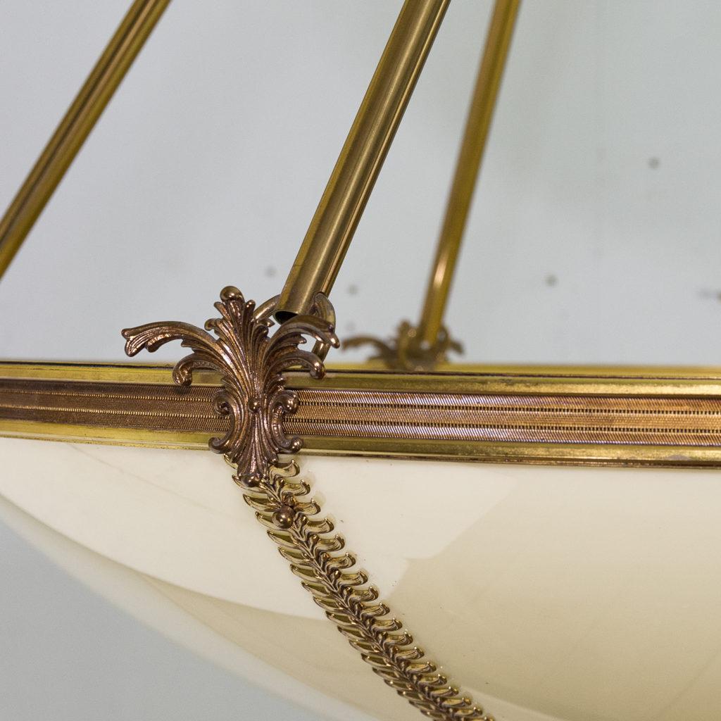 French Empire style Plafonnier pendant light, -139146