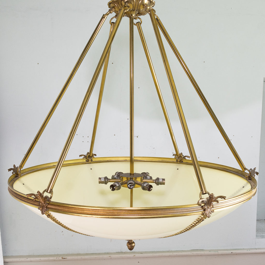 French Empire style Plafonnier pendant light, -139151