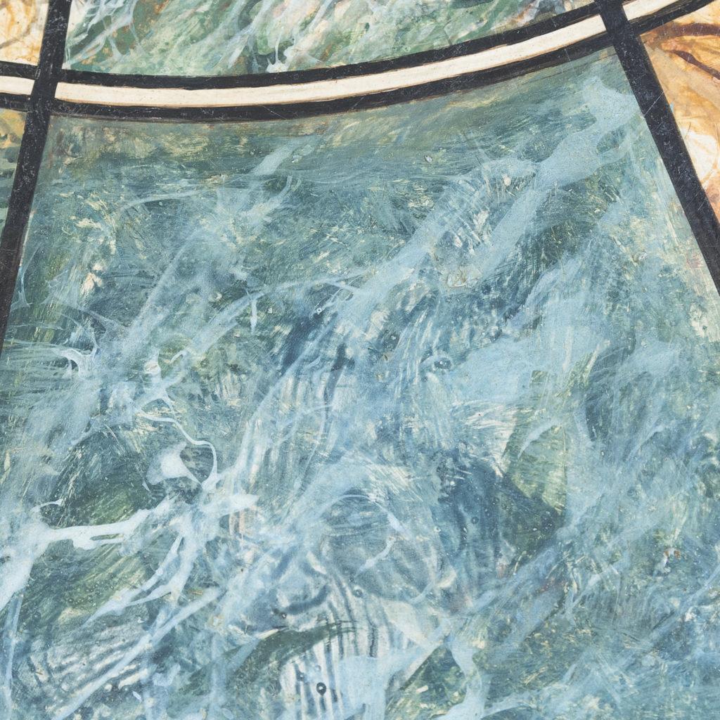 Faux-marble 'specimen' table,-139438