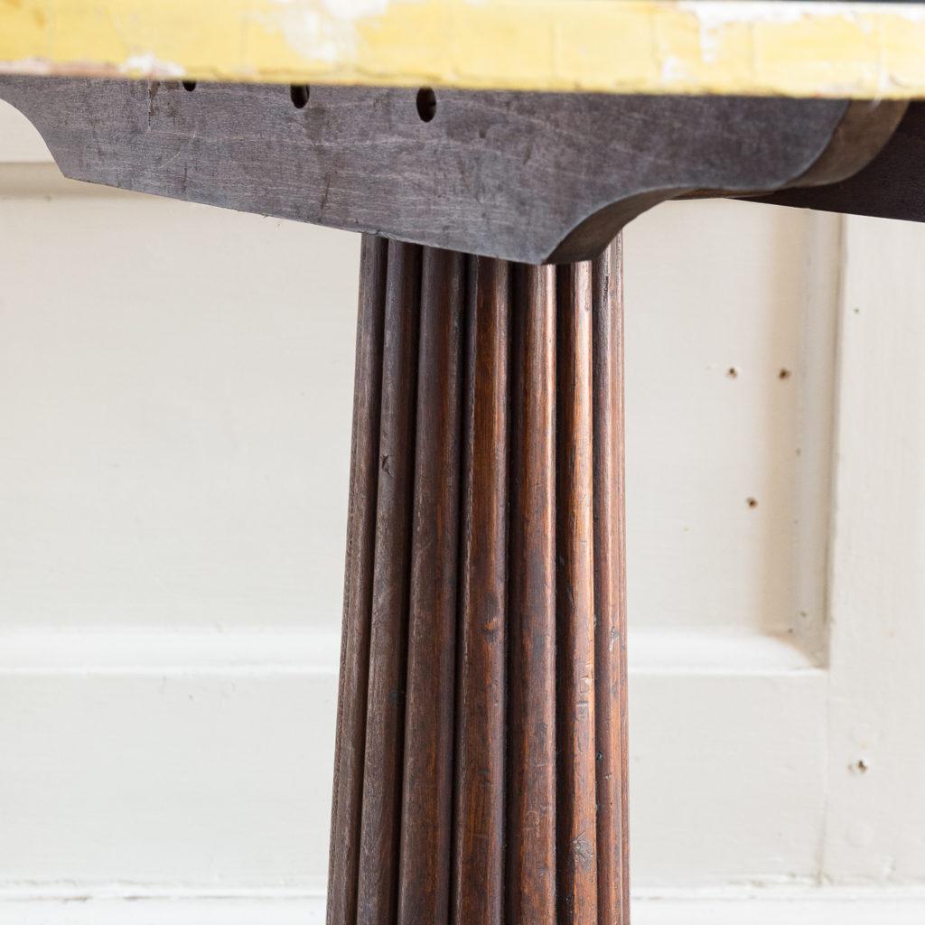 Regency style marbleised 'specimen' table,-139486