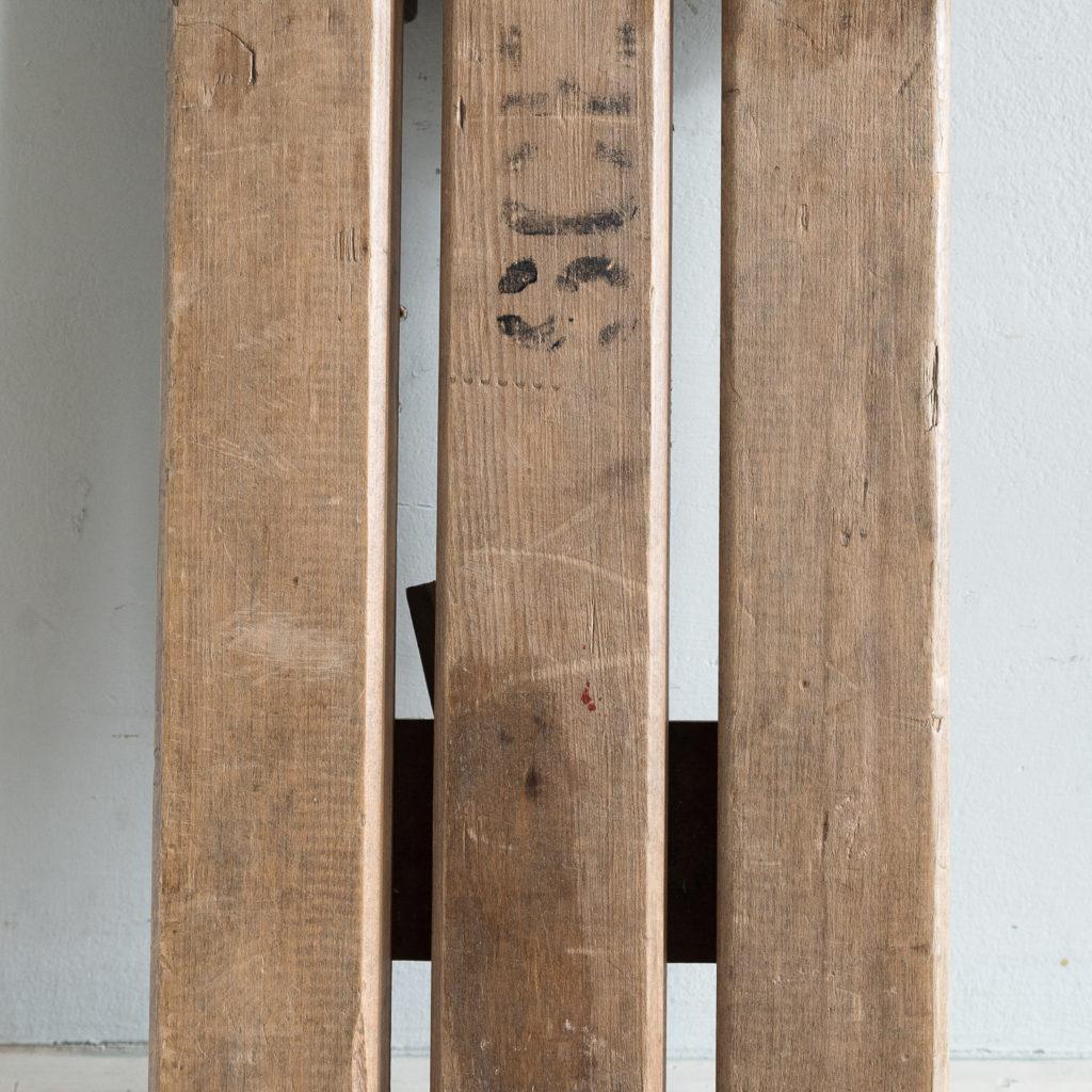 Twentieth century beech folding bench,-139359