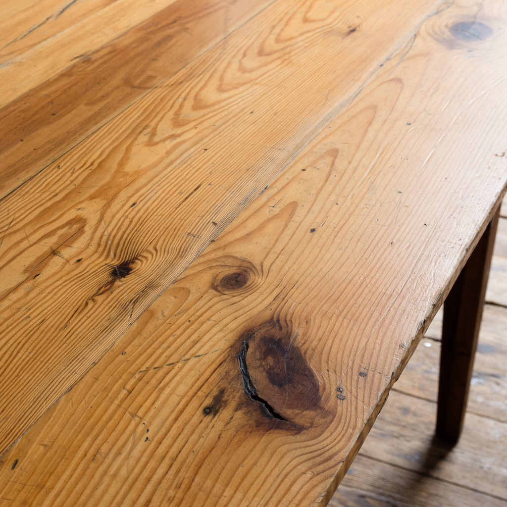 Made by LASSCO 6ft pine dining table,-139588