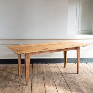 Made by LASSCO 6ft pine dining table,-0