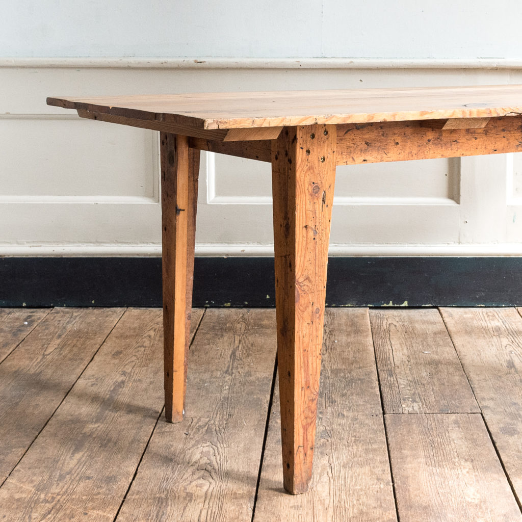 Made by LASSCO 6ft pine dining table,-139590