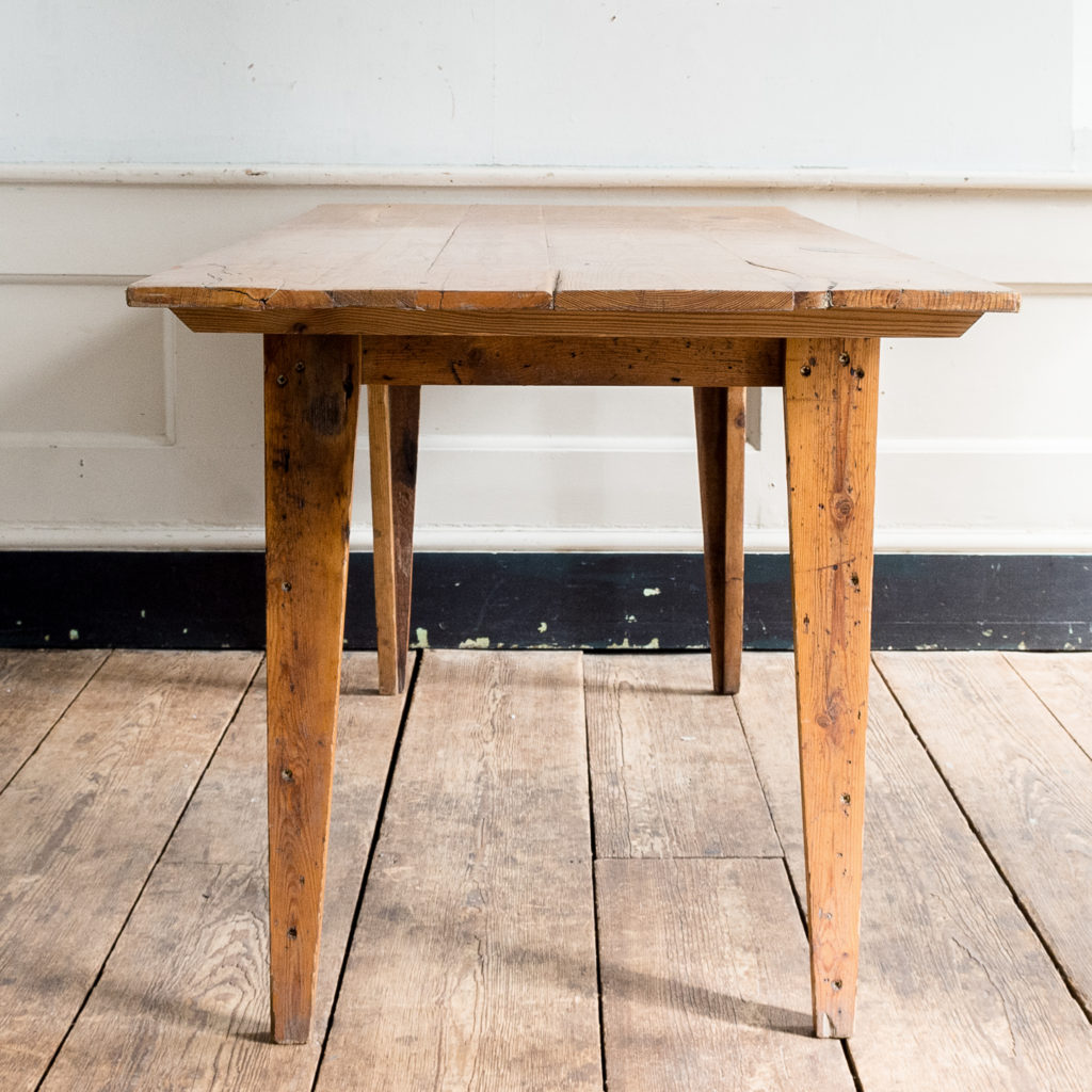 Made by LASSCO 6ft pine dining table,-139591