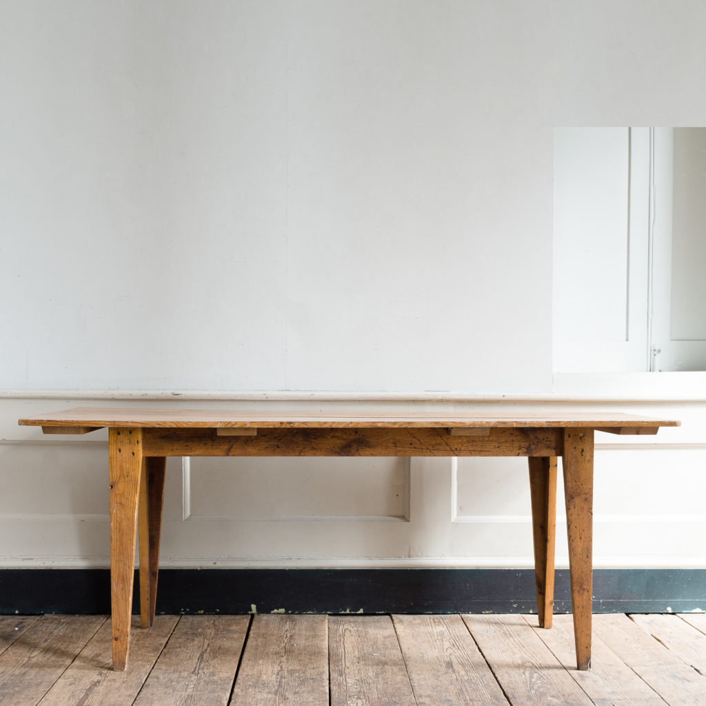 Made by LASSCO 6ft pine dining table,-139593