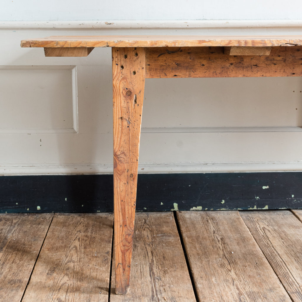 Made by LASSCO 6ft pine dining table,-139595
