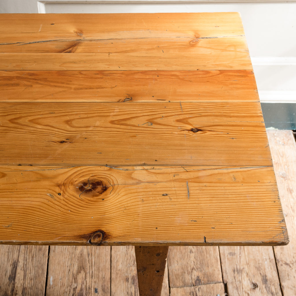 Made by LASSCO 6ft pine dining table,-139584