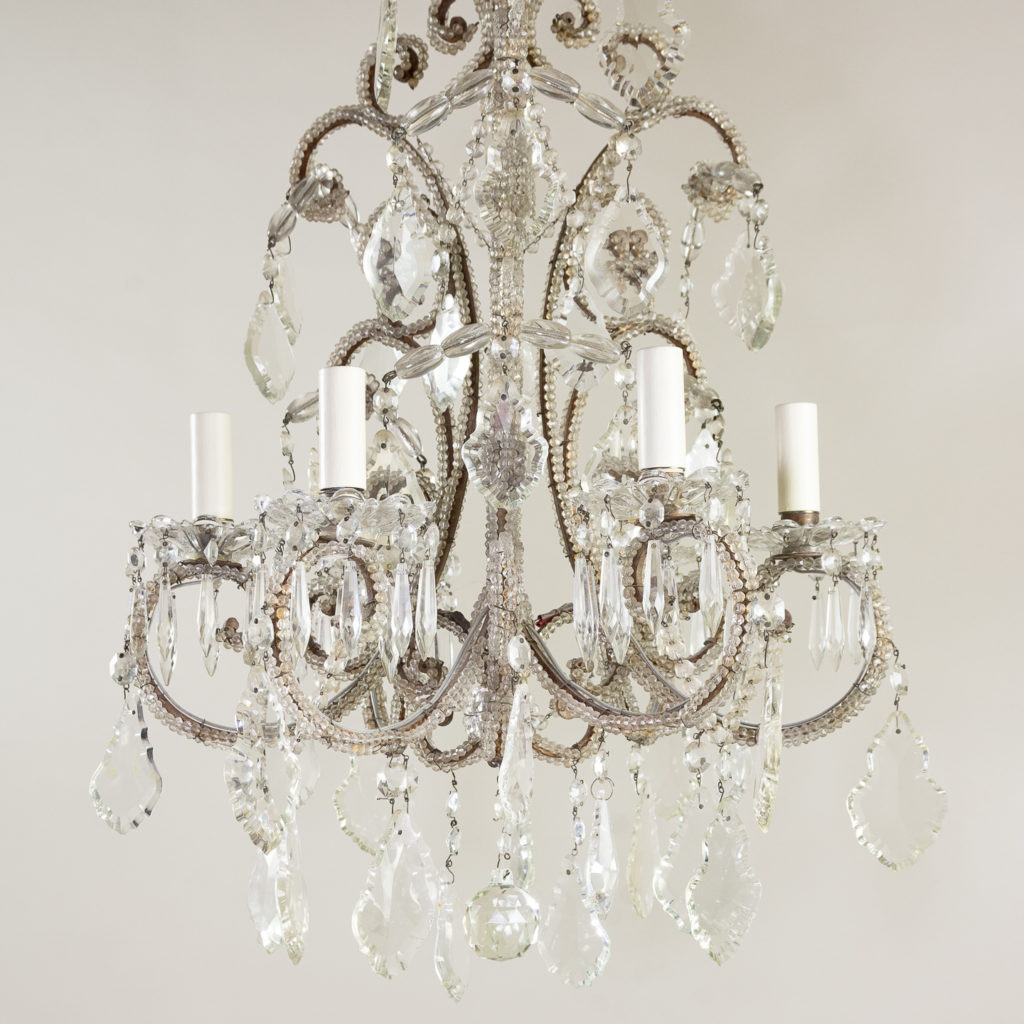 Pair of early twentieth century French chandeliers, -139206