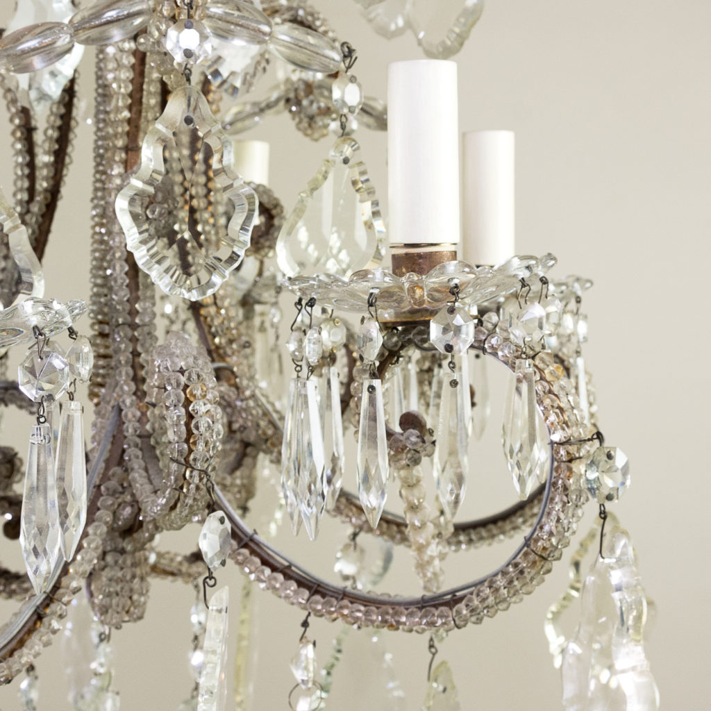 Pair of early twentieth century French chandeliers, -139208