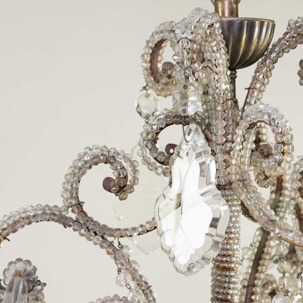Pair of early twentieth century French chandeliers, -139201