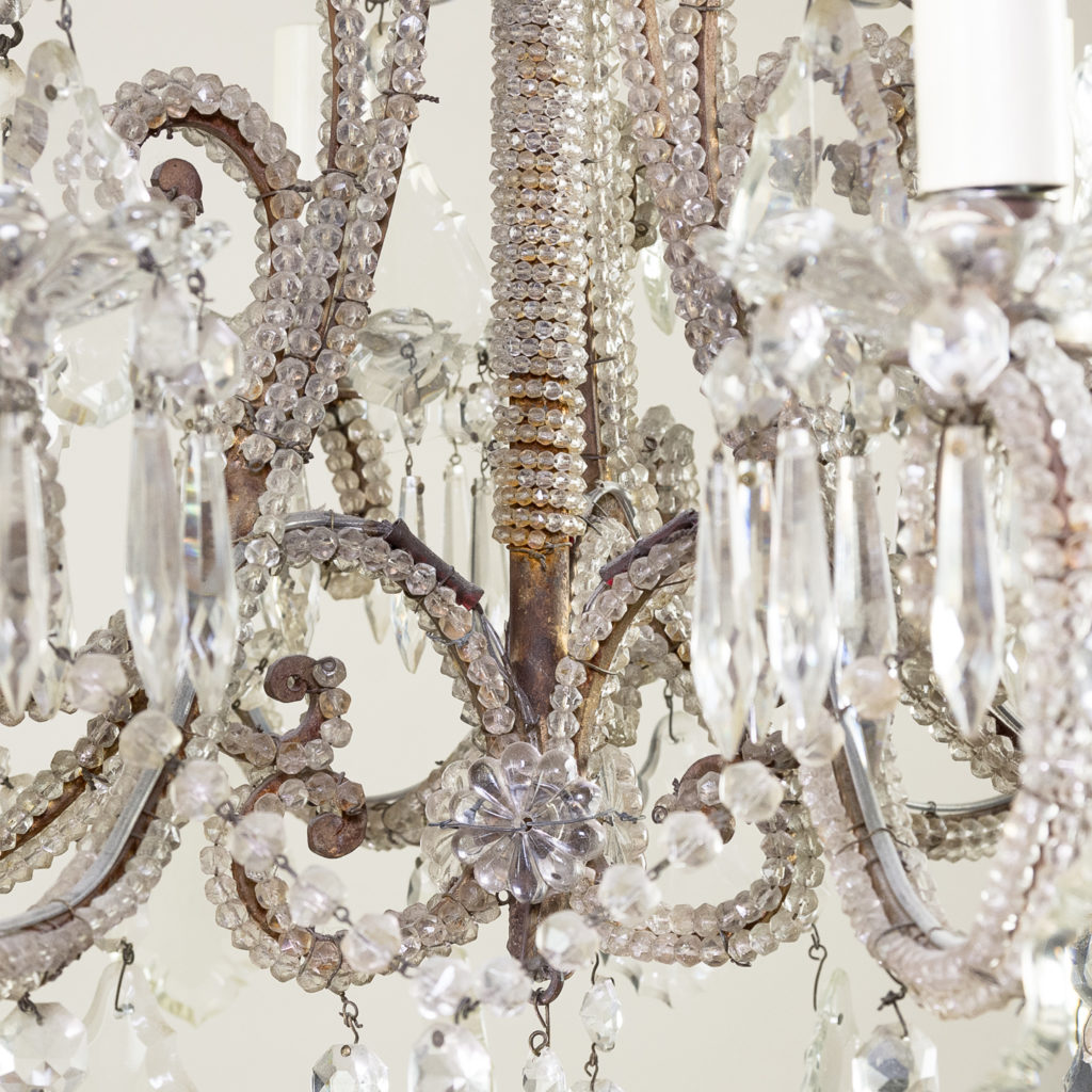 Pair of early twentieth century French chandeliers, -139204