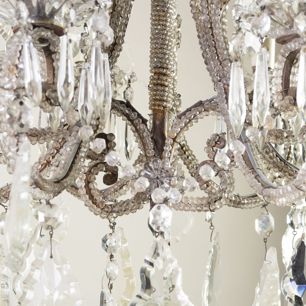 Pair of early twentieth century French chandeliers, -139205