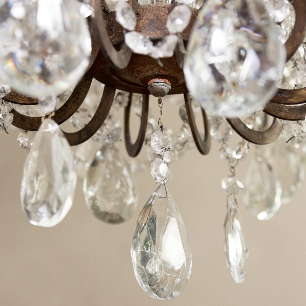 Twentieth century Continental eighteen light moulded glass chandelier, -139172