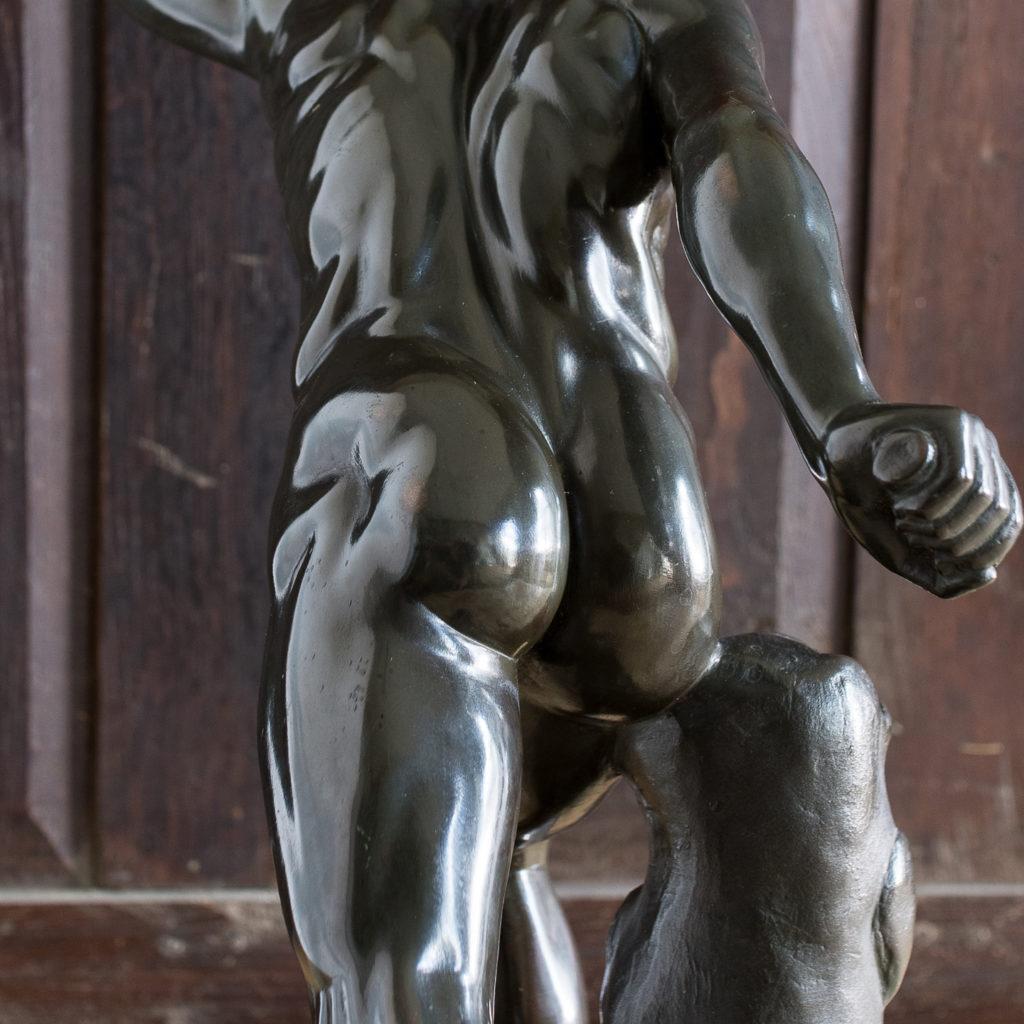 Early twentieth century bronze sculpture of the Borghese Gladiator, -138929