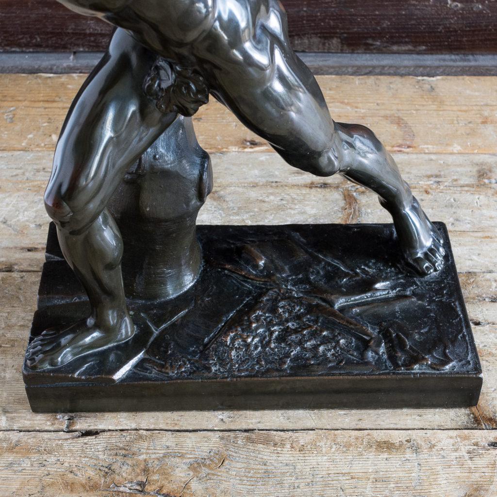 Early twentieth century bronze sculpture of the Borghese Gladiator, -138932