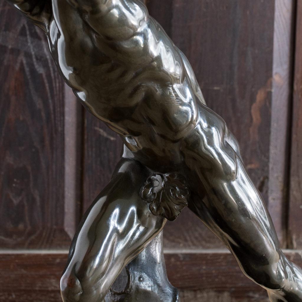 Early twentieth century bronze sculpture of the Borghese Gladiator, -138926