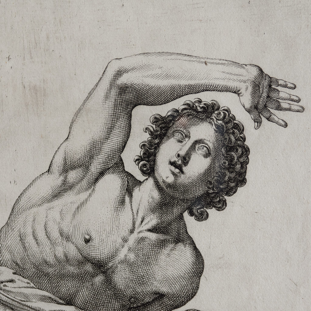 17th century copper-engravings of Classical Sculptures-139070
