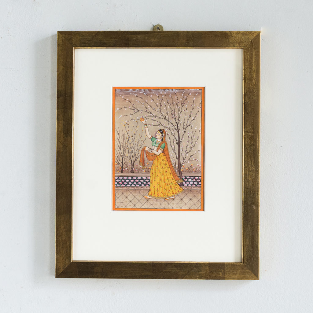 Persian miniature watercolour