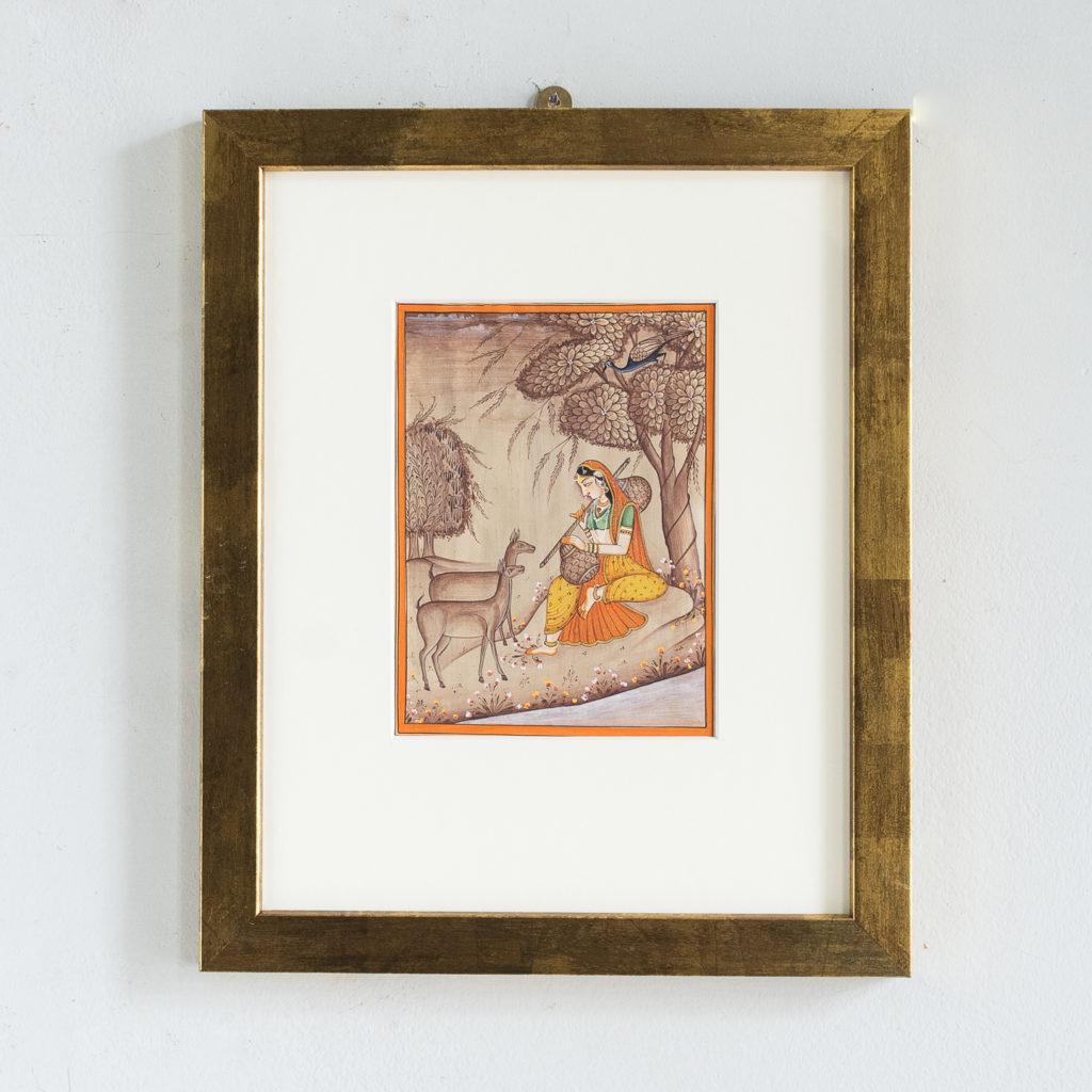 Persian miniature watercolour