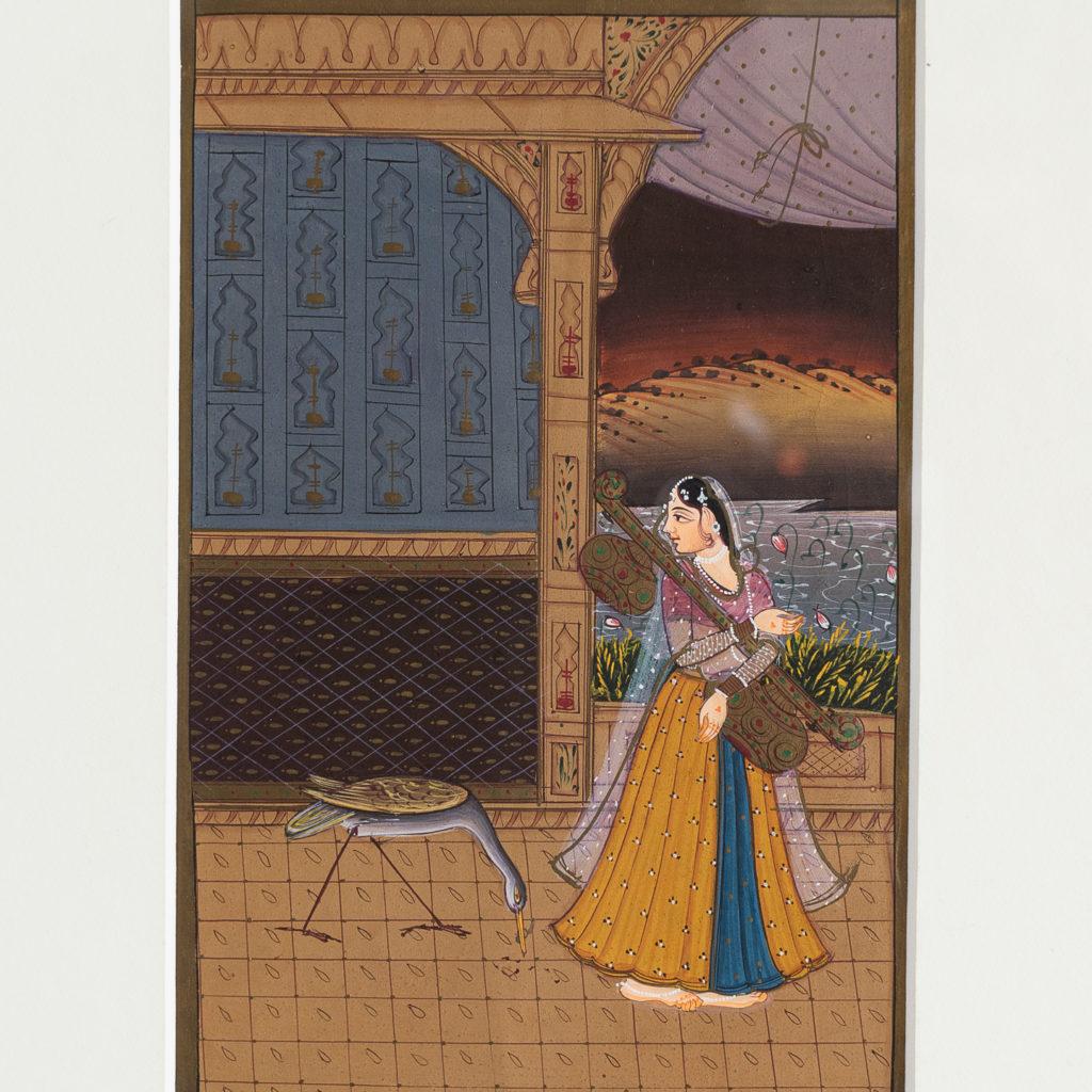 Persian miniature watercolour-139042