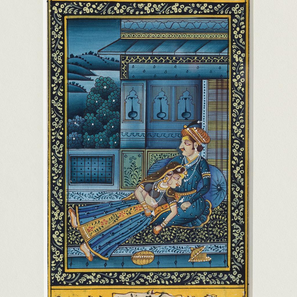 Persian miniature watercolour-139011