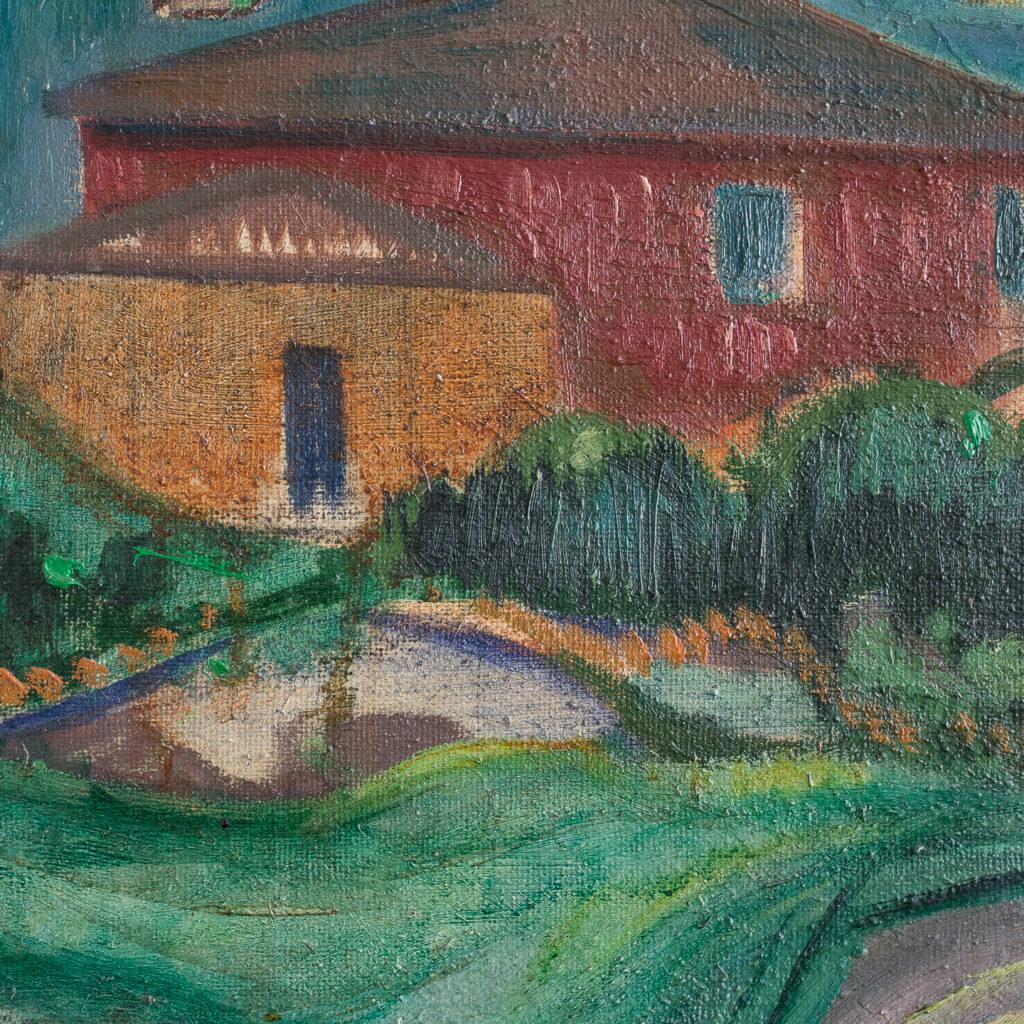 Danish artist Hans Øllgaard 1911-1969